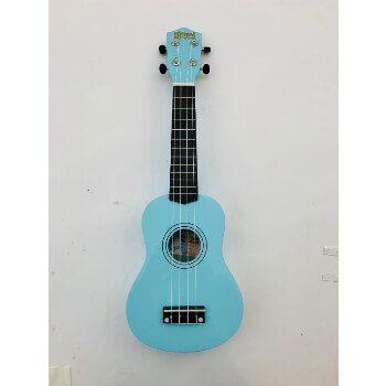 B-Grade Mad About SU8 Soprano Ukulele - Light Blue with Bag, Pick, Spare Strings