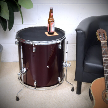 Musically Inspired Drum Table - Piece of Contemporary Furniture