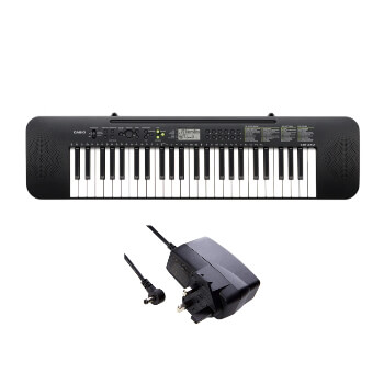 Casio Beginner 49 Key Standard Keyboard with Power Adaptor