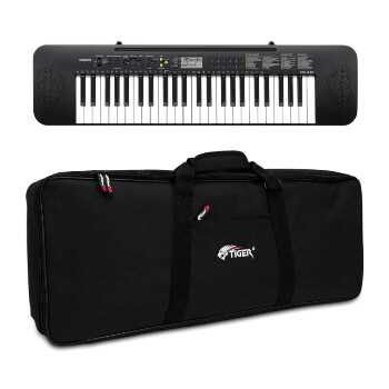 Casio Beginner 49 Key Standard Keyboard with Tiger Keyboard Bag