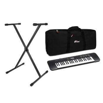 Casio Beginner 49 Key Standard Keyboard with Tiger Bag and Stand Pack