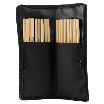 Tiger DGB42-BK Drum Stick Bag with Hardware, Floor Tom Attachments