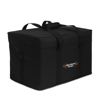 World Rhythm Semi-rigid Hardware Bag - 10mm Padding