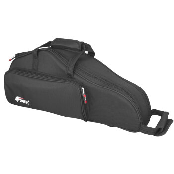 Tiger Alto Saxophone Case - Black Leightweight Strong Sax Case