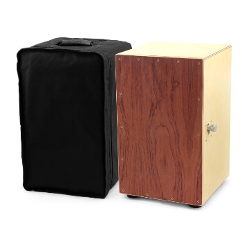 Brown Sandalwood Cajon with Bag