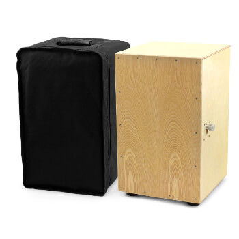Natural Cajon Box Drum with Bag