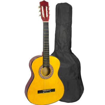 Childrens 1/4 Size Classical Guitar Pack