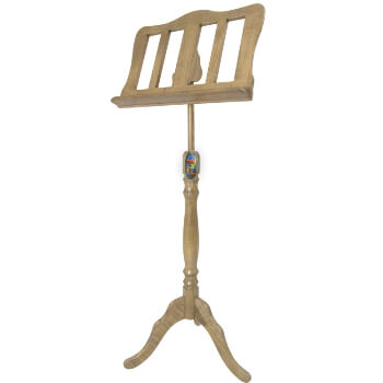 Mad About Baroque Style Oak Wooden Music Stand