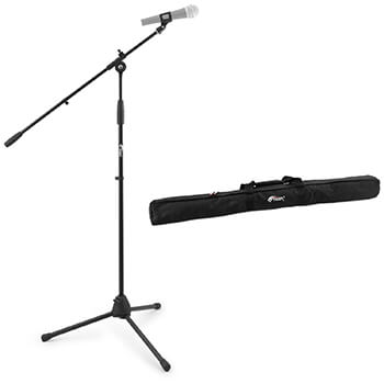 Tiger Boom Microphone Stand with Tripod Base and Bag