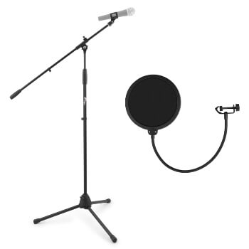Tiger Boom Microphone Stand & Pop Filter Pack