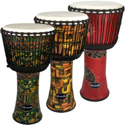 World Rhythm 12 Player Djembe Drum Pack