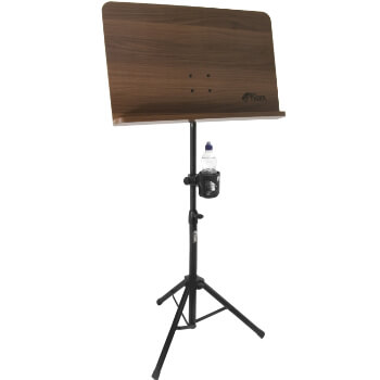 Tiger Wooden Orchestral Sheet Music Stand & Cup Holder