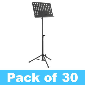 Tiger Pack of 30 Orchestral Music Stands - New Improved Design
