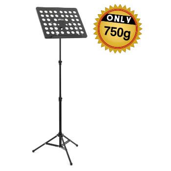 Tiger Lightweight 0.75kg Music Stand – Portable Stand