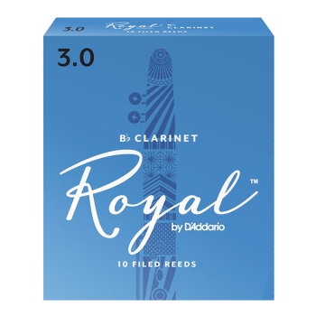 Royal by D'Addario Bb Clarinet Reeds - Box of 10