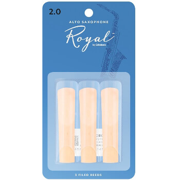 Rico Royal Alto Sax Reeds - Box of 3