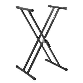 New for 2018 - Double Braced X-Frame Keyboard Stand