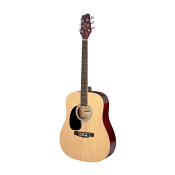 Stagg Left Handed Acoustic Guitar - Natural