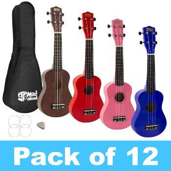 Mad About Soprano Ukulele for Beginners - 12 Pack