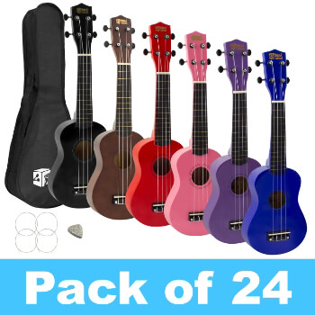 Mad About Soprano Ukulele for Beginners - 24 Pack