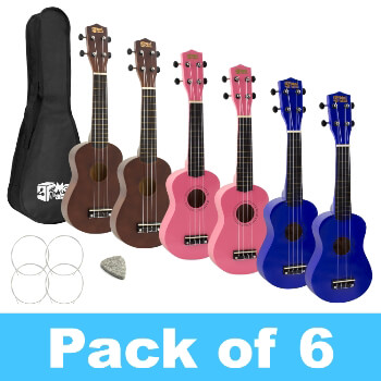 Mad About Soprano Ukulele for Beginners - 6 Pack