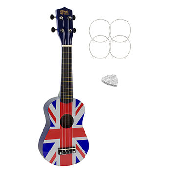 Soprano Ukulele by Mad About - Union Jack Design