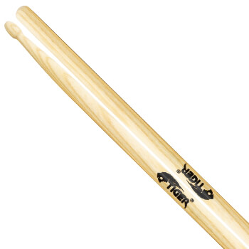Tiger Hickory Drumsticks with Wooden Tips