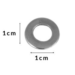 Silver Metal Washer - Spare Part