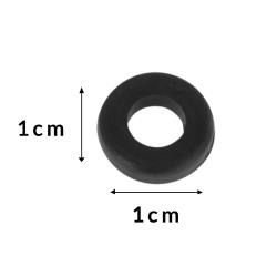 Black Plastic Washer - Spare Part