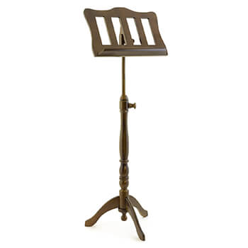 Theodore Baroque Style Oak Music Stand